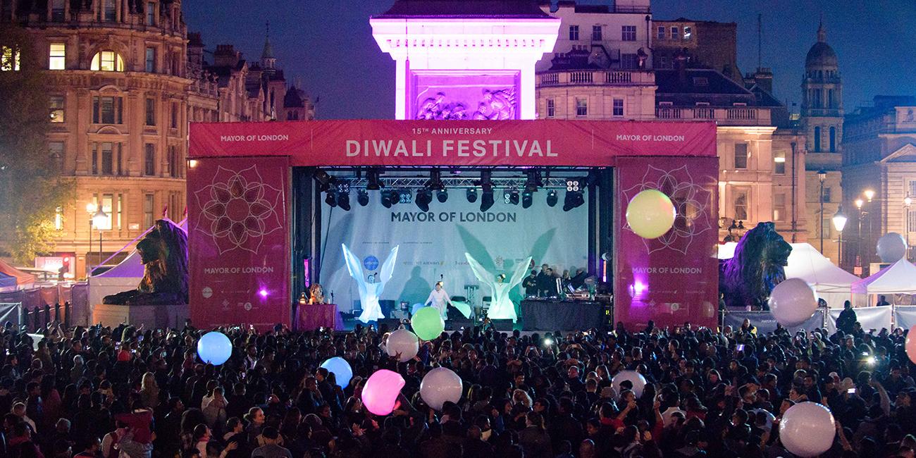 Diwali Festival 2018 London City Hall