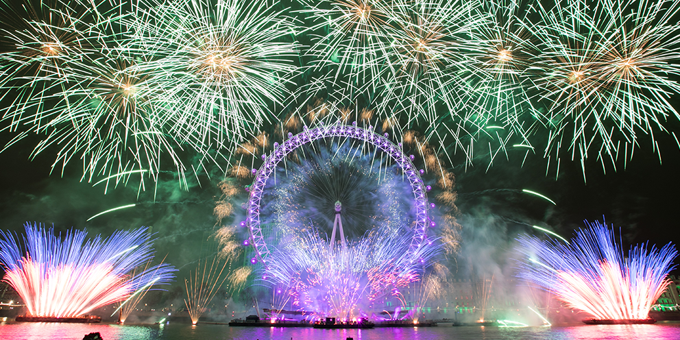 London New Year's Eve Fireworks 2019 | London City Hall