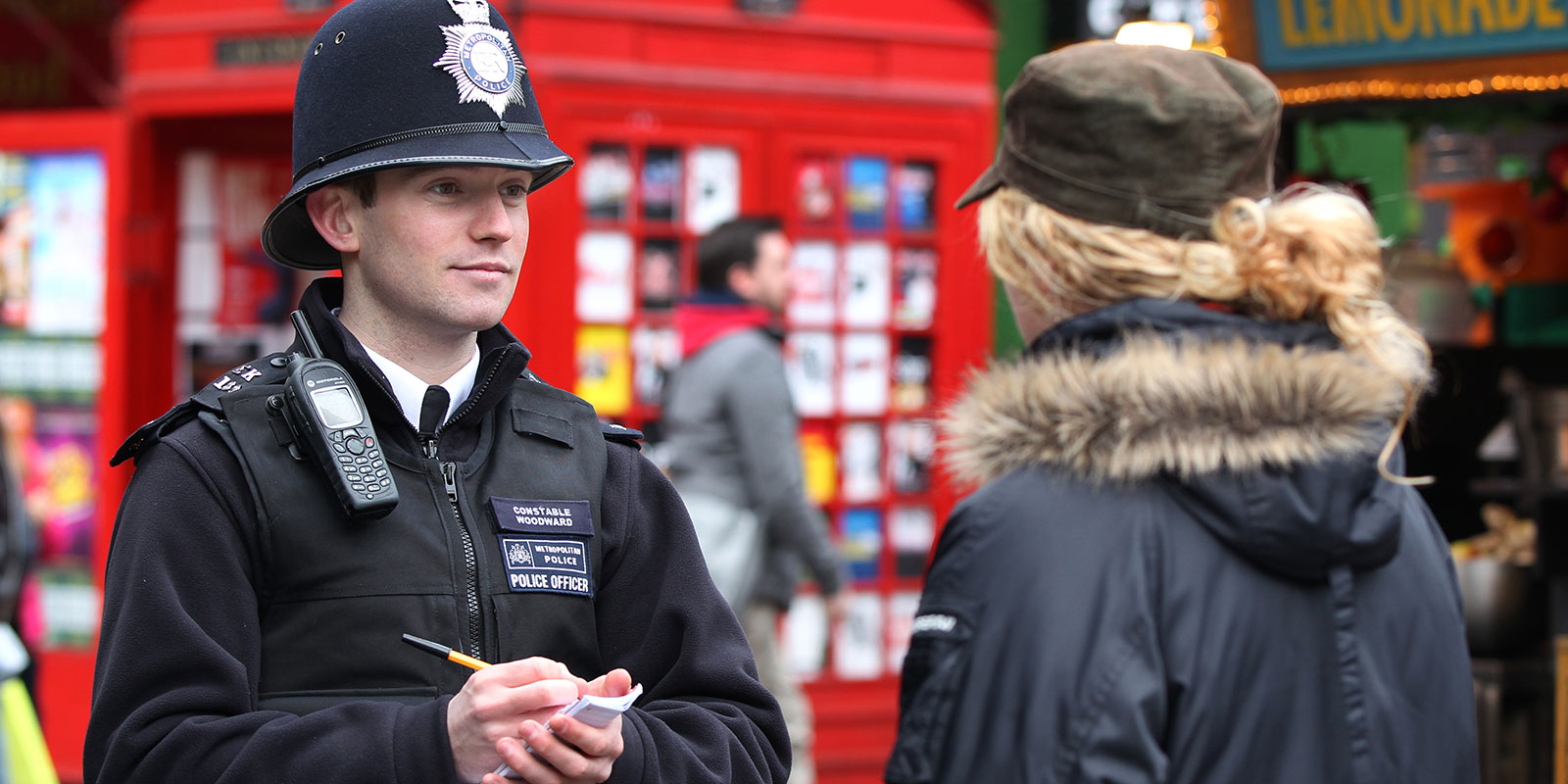 stop and search community monitoring network