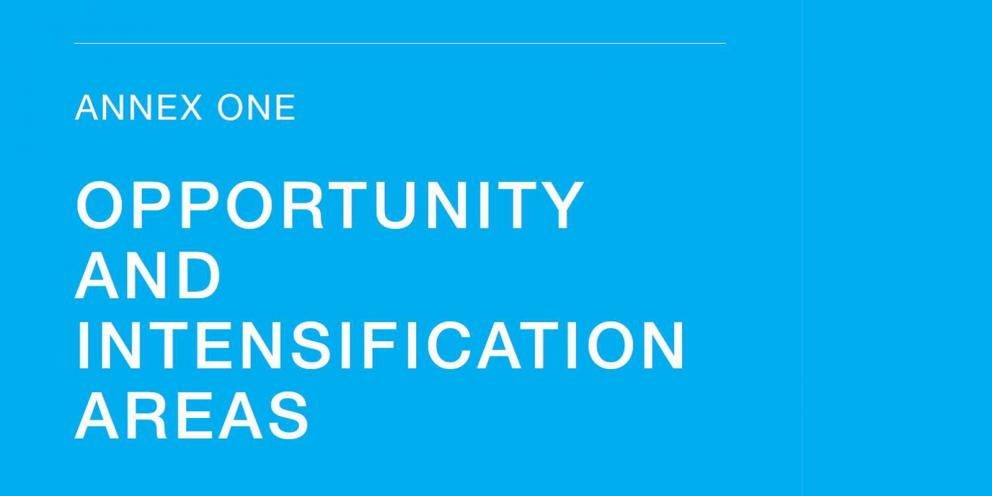 London Plan Annex 1: Opportunity and Intensification Areas