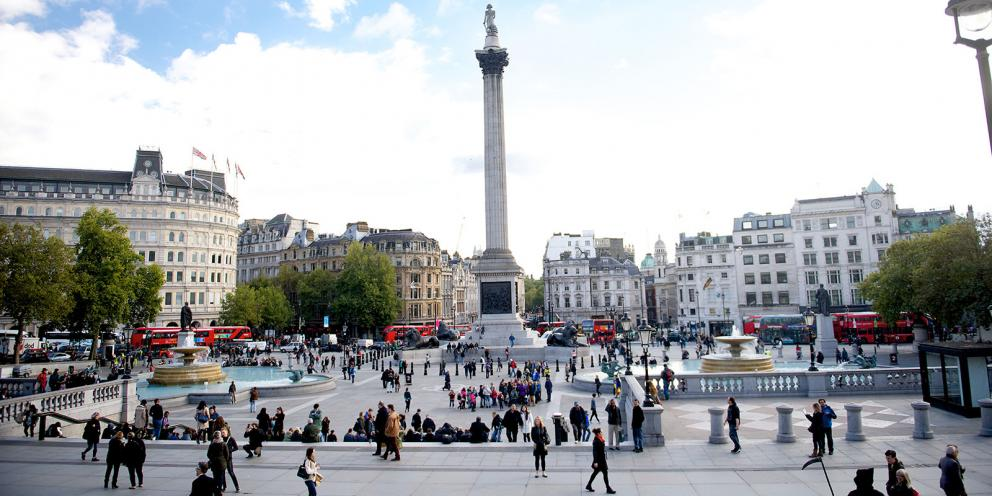 Image result for trafalgar square