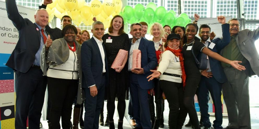 Waltham Forest and Brent are named as London Borough of Culture 2019 and 2020