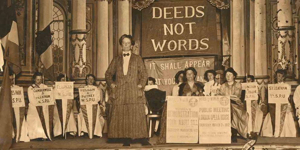 Suffrage 18: a centenary exploration at LSE | London City Hall