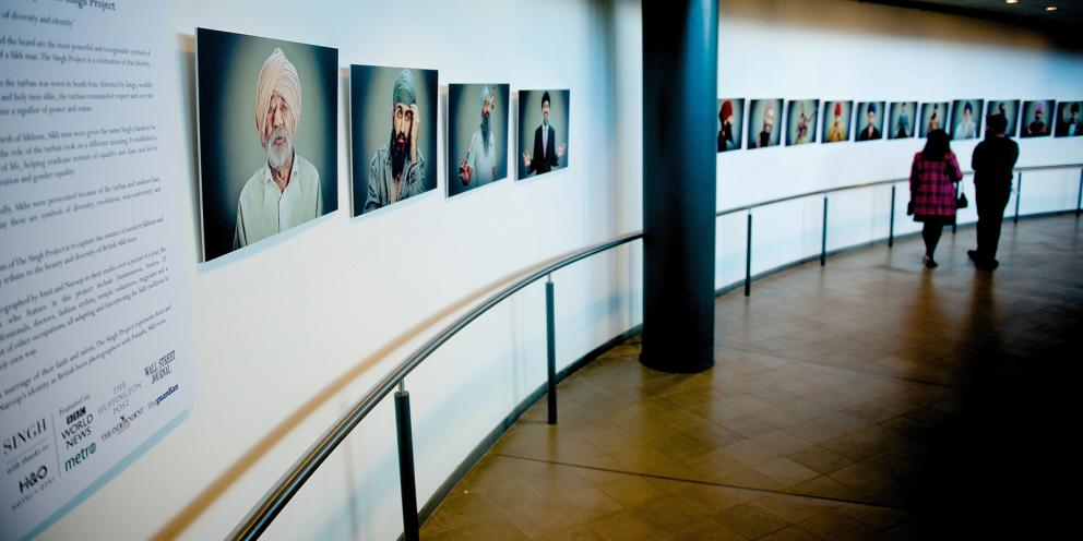 exhibition at city hall