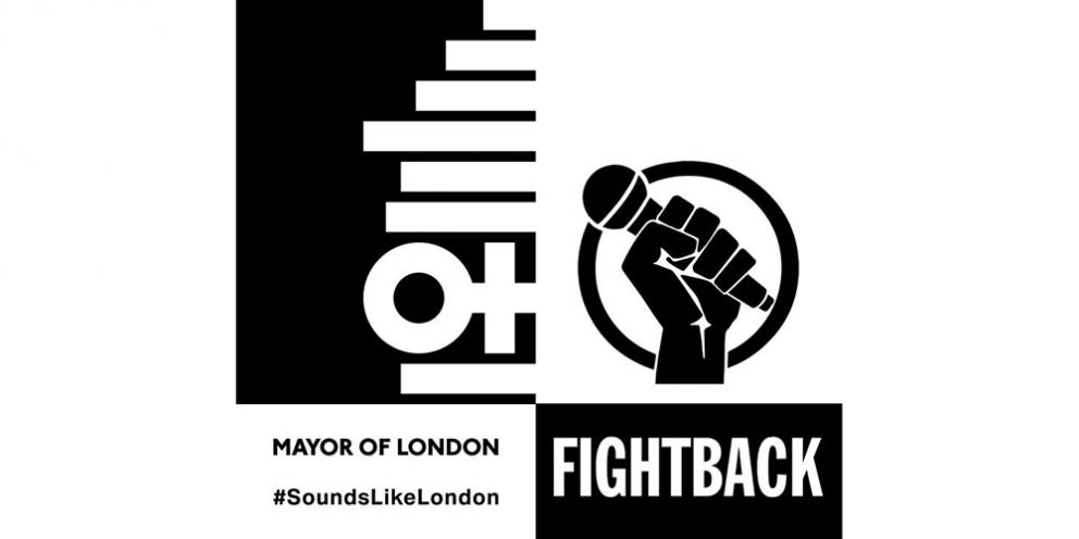 Fightback London logo Sounds Like London