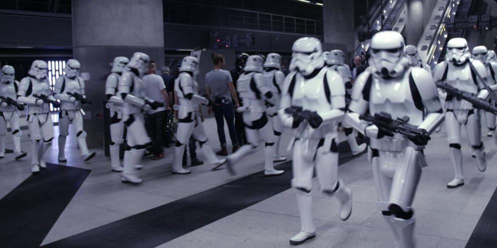 Film London - Rouge One shoot