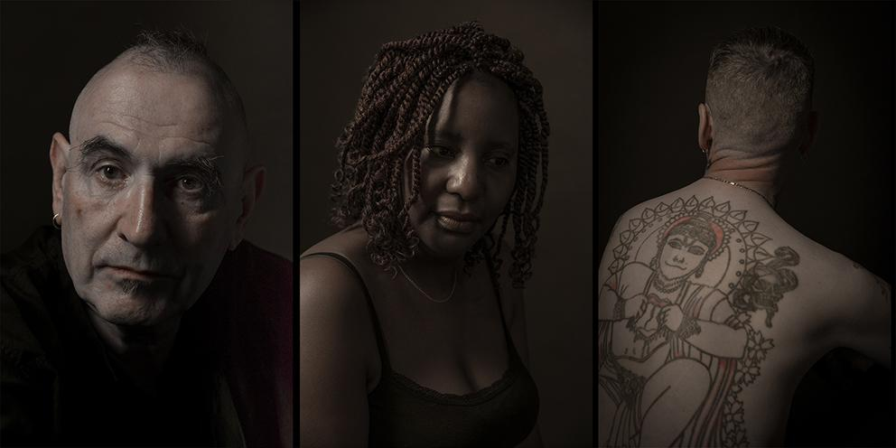 Photos of 3 AIDS survivors