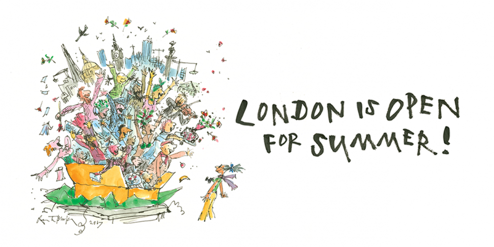 London Is Open for Summer Sir Quentin Blake