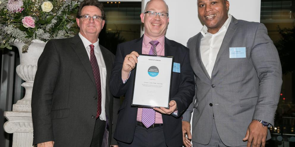 LSBU Healthy Work Place Charter Awards