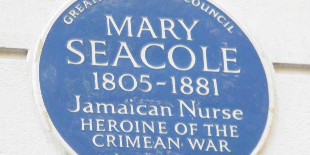 Plaque for Mary Seacole