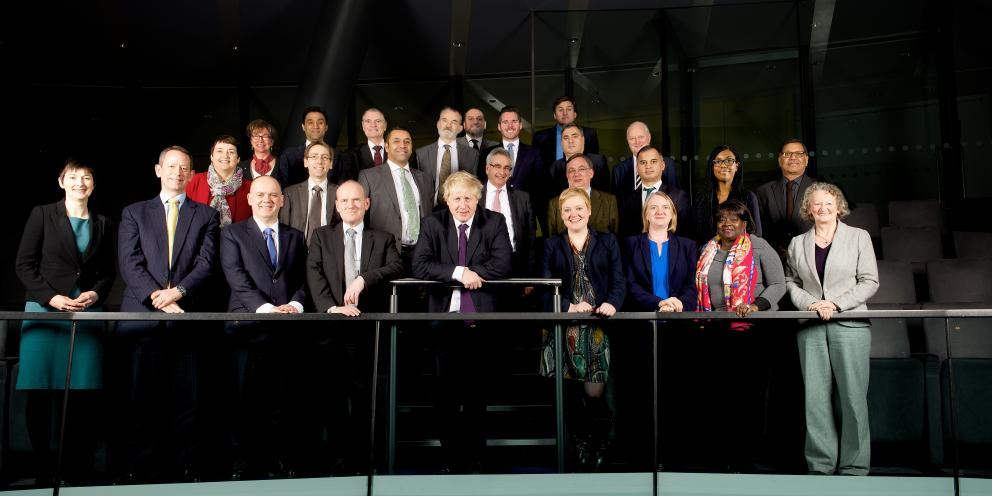 Mayor and London Assembly members