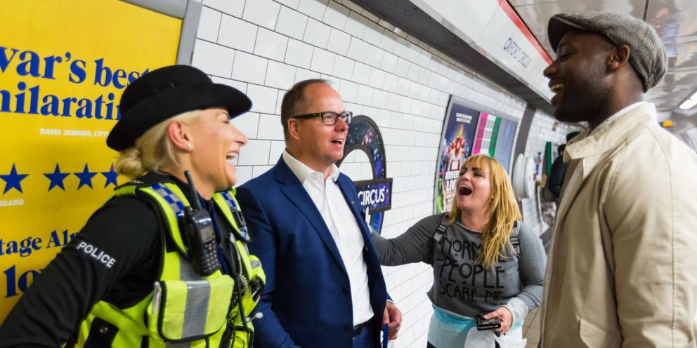 Night Tube BTP and public