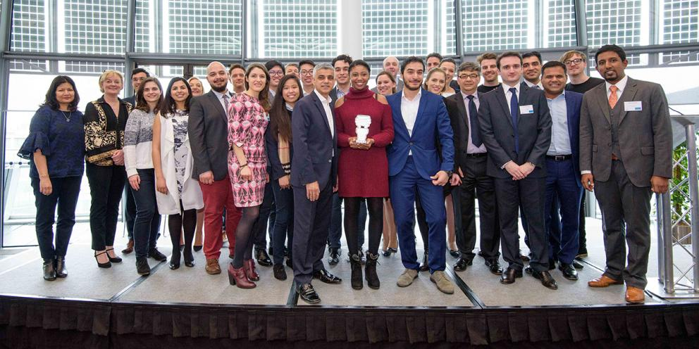 Mayor of London Carbon Entrepreneur participants
