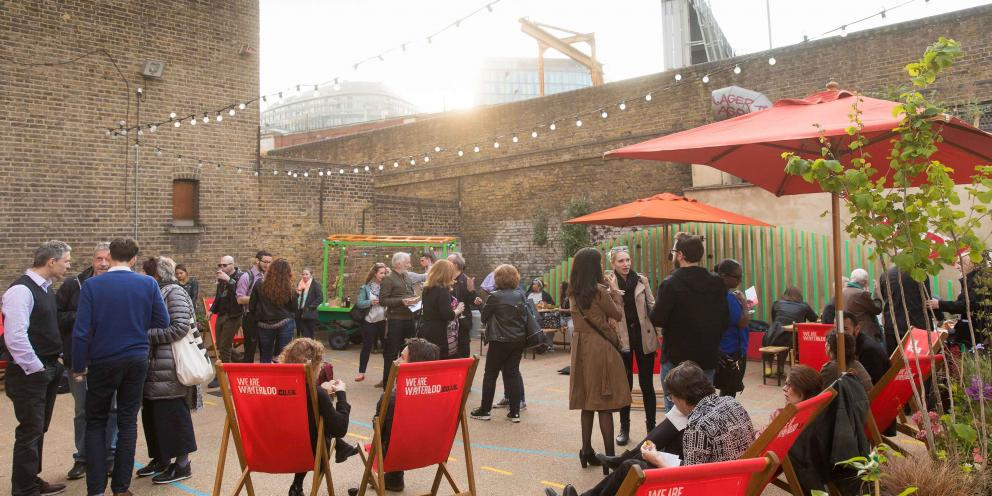 Granby Square – a clean air space launched by Cleaner Air Better Business, an initiative funded by the Mayor's Air Quality Fund