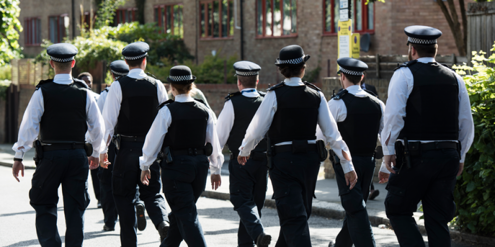 The number of police on London's streets could fall to 27,500 by 2021