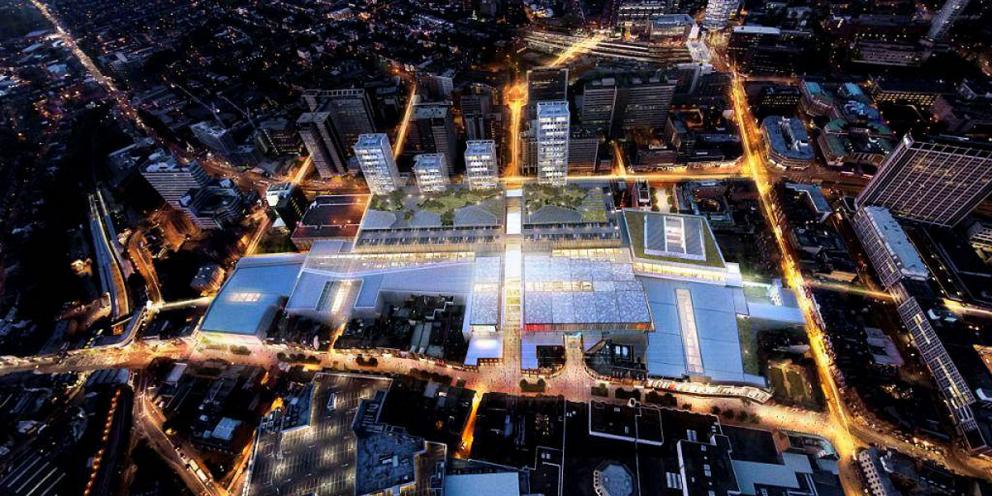 The new Westfield development planned for Croydon town centre.
