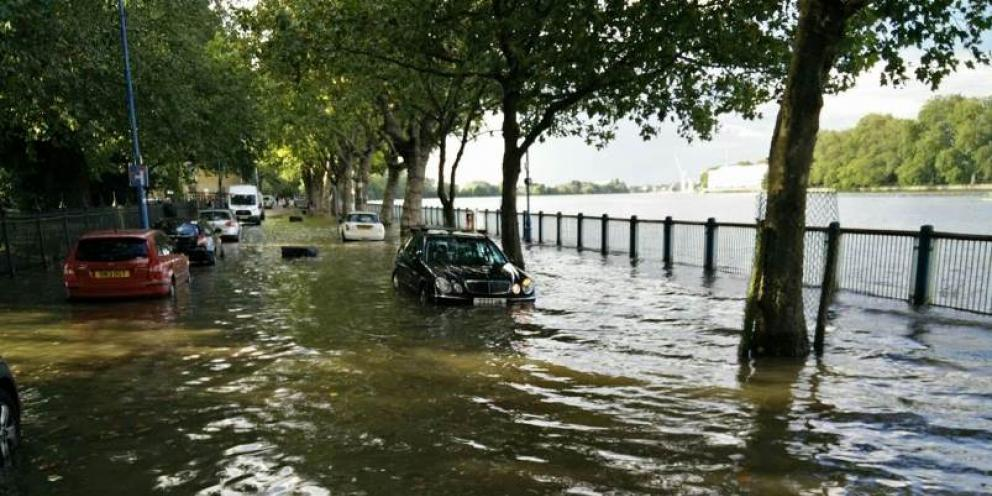 Flooding in Putney