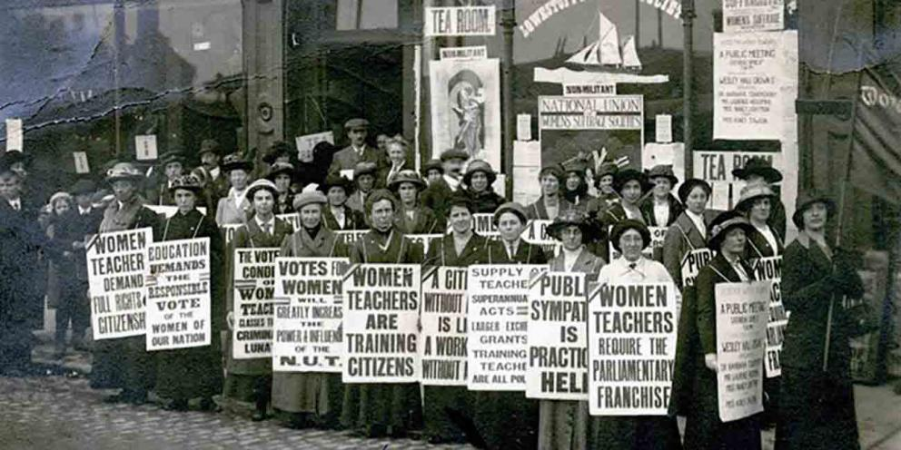Sylvia Pankhurst and Suffrage movement in East London