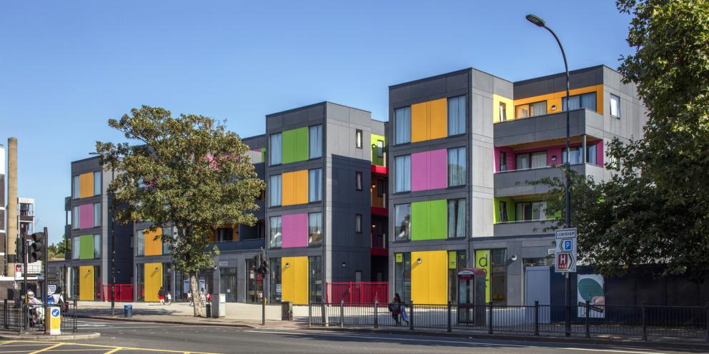 Temporary accommodation in Ladywell