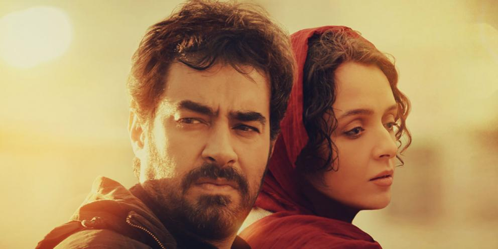 Actors Shahab Hosseini and Taraneh Alidoosti in the Salesman