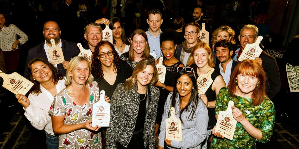 The winners of the Urban Food Awards 2016