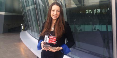 Natalie Cramp Team London charity award