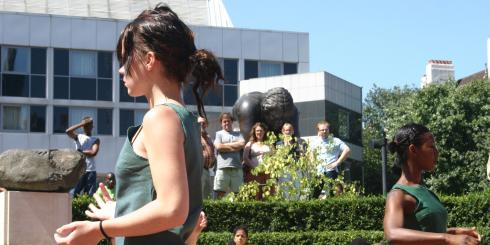 The Place Presents: Pop up Dances at the British Library