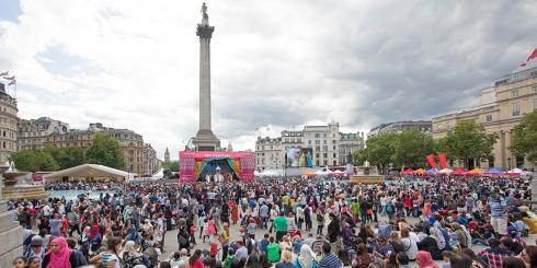 Eid Celebrations - Trafalgar Square