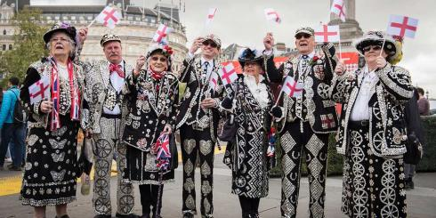 Pearly kings and queens 2017