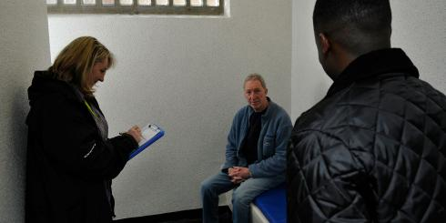 Independent custody visitors