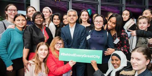 Sadiq Khan celebrates International Women's Day