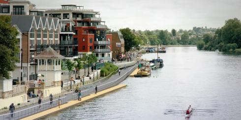 Proposed Thames Boardwalk in Kingston
