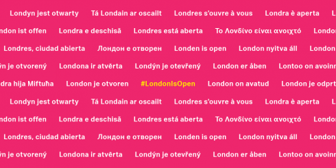 London is Open European languages