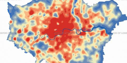 London Heat Map screenshot