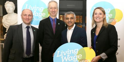 Mayor of London, Sadiq Khan announces the new London Living Wage rate