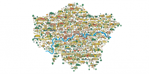 London Plan front cover graphic