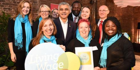 The London Living Wage has risen above £10 for the first time