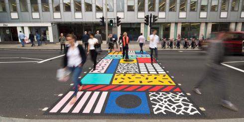 London Design Festival road