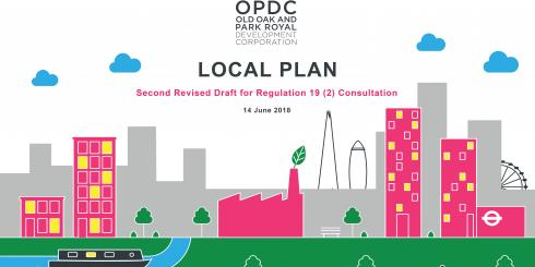 OPDC Local plan 2018 front cover