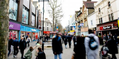 Croydon high street