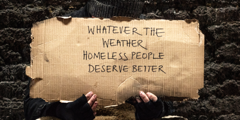 Whatever the weather, homeless people deserve better