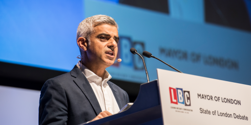 Sadiq Khan State of London Debate
