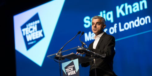 Sadiq Khan London Tech Week