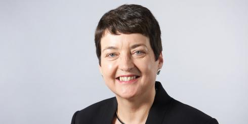 Portrait of Valerie Shawcross CBE, London's Deputy Mayor for Transport