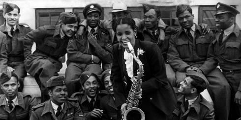windrush - Mona Baptise Blues Singer June 1948.jpg