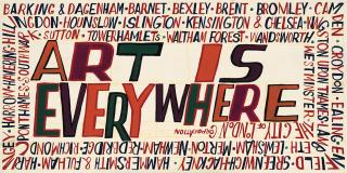 Art is everywhere by Bob and Roberta Smith