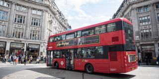 Electric Bus in London