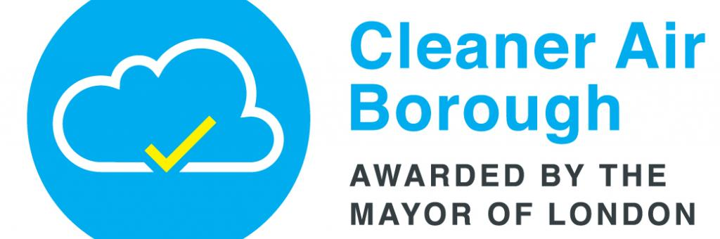Logo awarded to boroughs working towards Cleaner Air Borough status