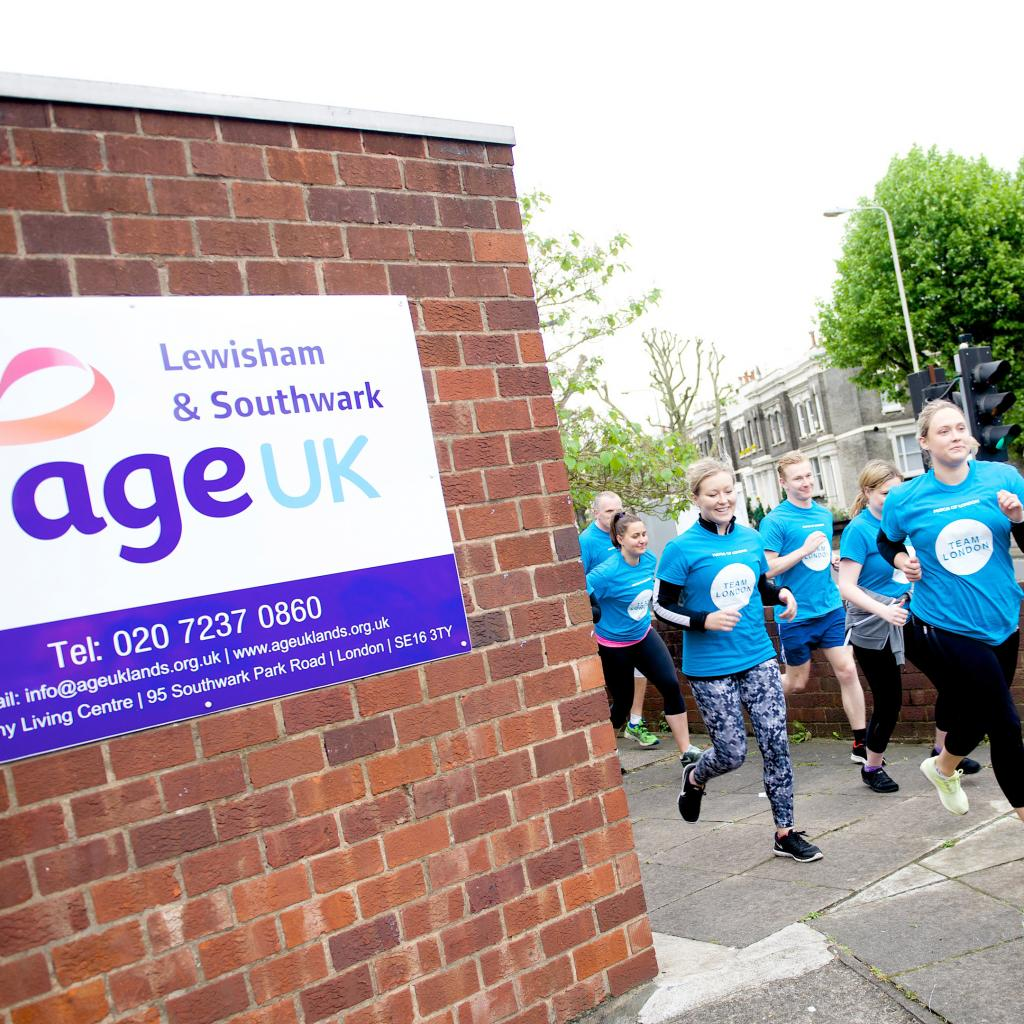 Age UK Southwark runners