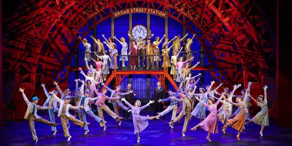 Performance of 42nd Street